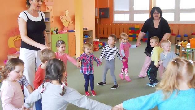 Nová školka v areálu žatecké ZŠ P. Bezruče