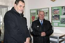 Josef Masopust a Ivan Novák v Lounech