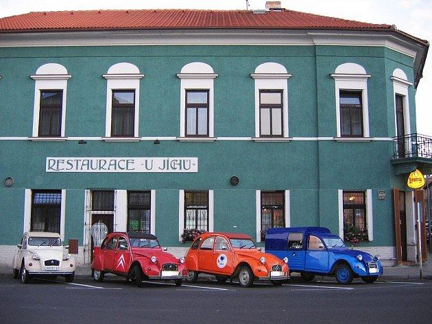 Restaurace U Jíchů v Lounech