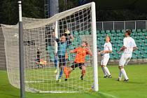 FC Chomutov - SEKO Louny 1:0 (Chomutov v bílém)