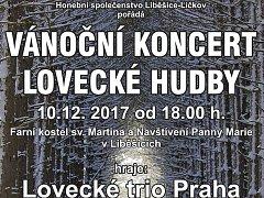 Pozvánka na koncert.