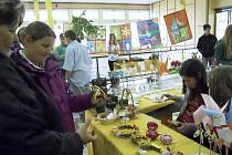 Velikonoční trhy na Základní škole Petra Bezruče v Žatci
