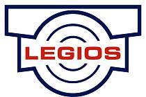 Logo dřívější firmy Legios, nyní přejmenované na Heavy machinery services