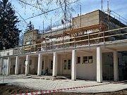 Pavilon A na lounském výstavišti prochází velkou rekonstrukcí