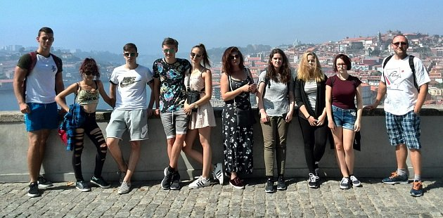 Soukromá obchodní akademie vŽatci byla opět na stáži vPortugalsku