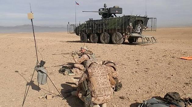 Už rok slouží v Afghánistánu vojáci ze žateckého 41. mechanizovaného praporu s kolovými obrněnými transportéry Pandur.