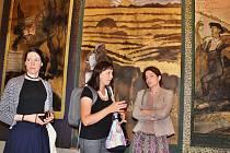 Galerii Benedikta Rejta v Lounech otevřela expozice malíře Emila Filly
