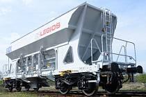 Výsypný vůz Faccns 49 m3, který se začne od letošního listopadu  vyrábět v Lounech pro společnost GATX.