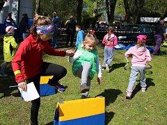 Memoriál Karla Raise v Lounech. Pro děti byla připravena řada sportovních aktivit