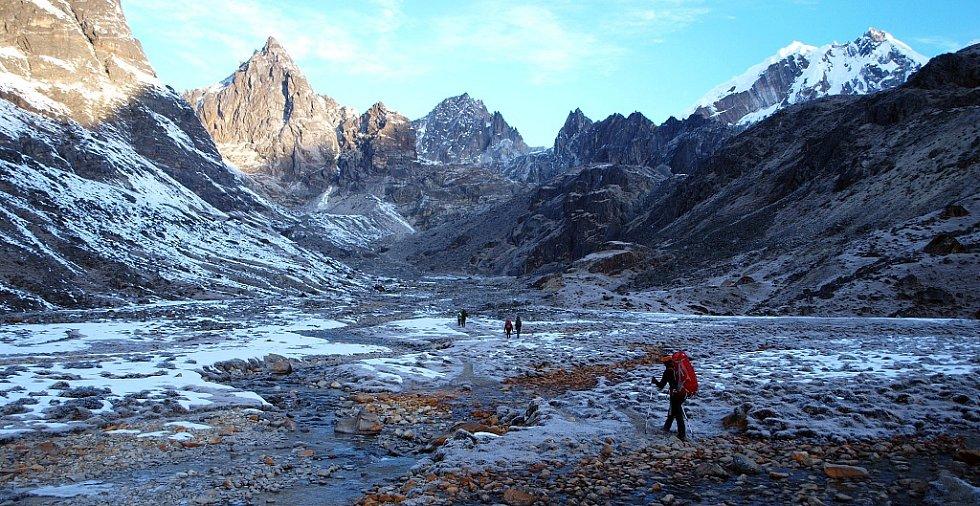 Průsmyk Cho-la (5368 m)
