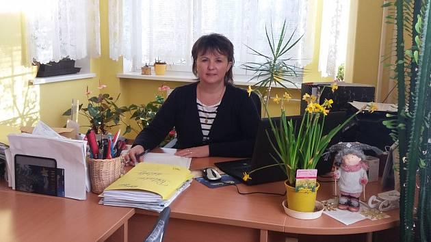Starostka Petrohradu Jitka Dondová.