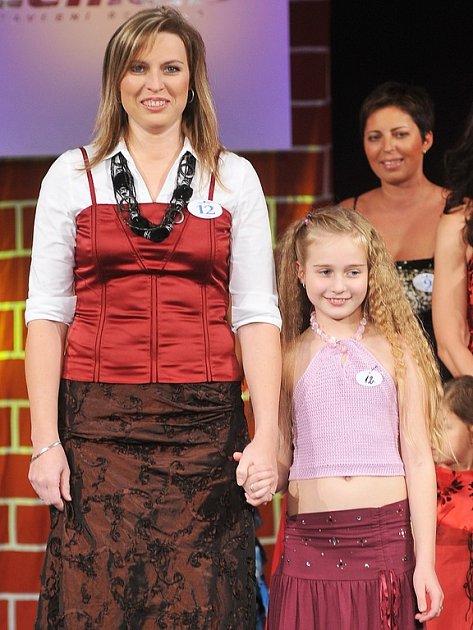 Úspěšná maminka Pavlína Bydžovská s dcerou Tamikou.