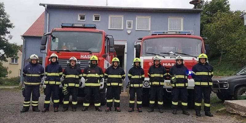 Zapojili se také hasiči z Lubence.