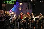 Slavnostní rozsvícení vánočního stromu v Lounech doprovázel kulturní program.