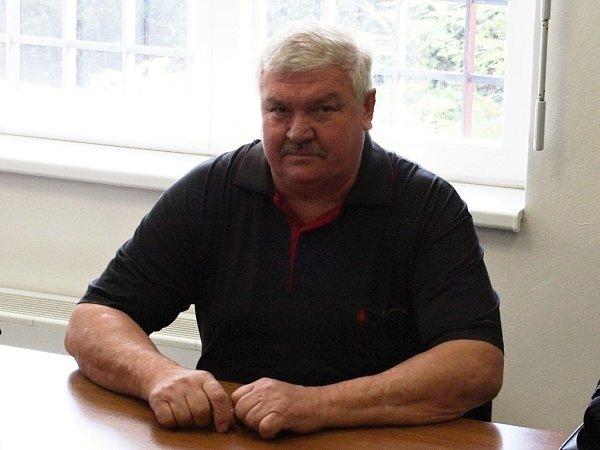 Bývalý starosta Bitozevsi Václav Šístek usoudu.
