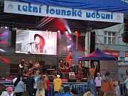 Letní lounské vábení 2016. Vystoupení ukrajinské skupiny Atmosfera.