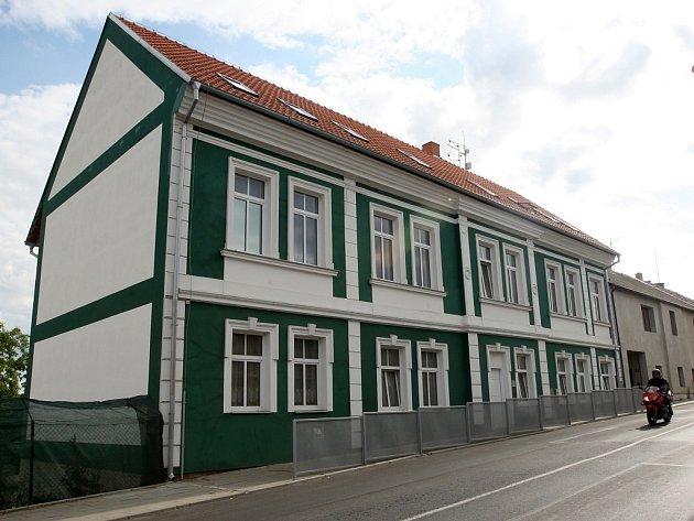 Dům v Černčicích, ve kterém k tragédii došlo.