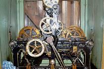 Obnovený hodinový stroj v radonickém kostele