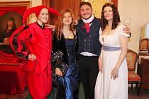 Kostýmové prohlídky na zámku ve Stekníku