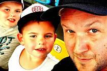 Tomáš Pikl miluje brankářský post a své děti.