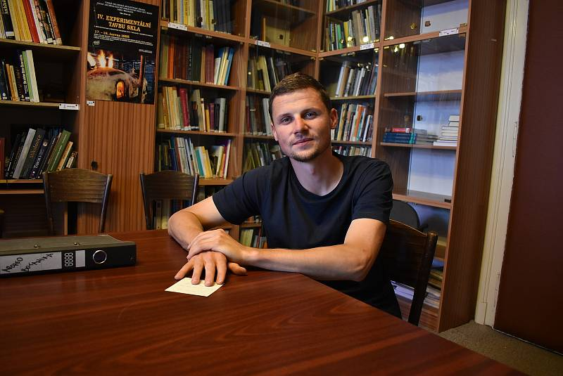 Archeolog Vojtěch Peksa