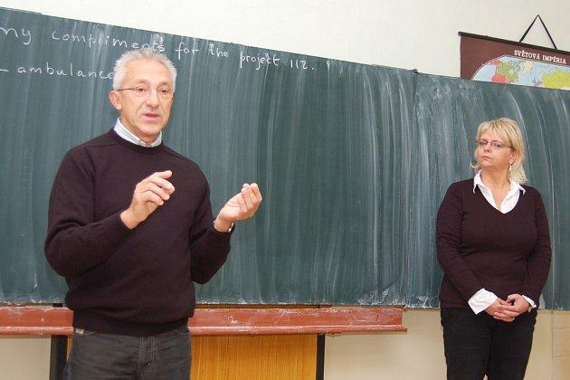 Jo Polak a Alexandra Suková při výuce v Lipenci.