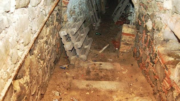 Labyrint chodeb pod Podbořany