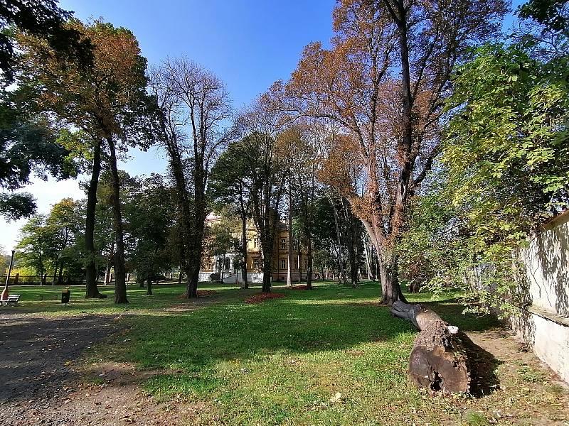Zámek s přilehlým parkem v Novém Sedle má v pronájmu obec.
