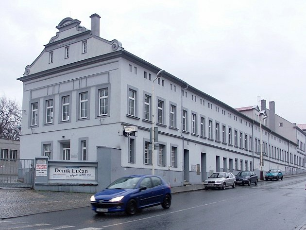 Objekt bývalých papíren v Žatci
