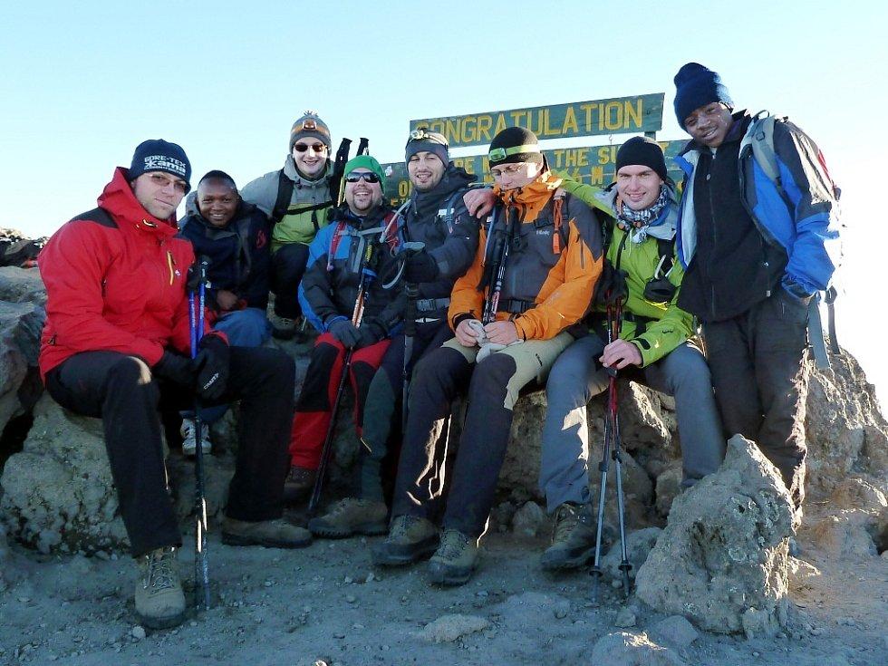 Česká výprava na vrcholu Mt. Meru (4655)