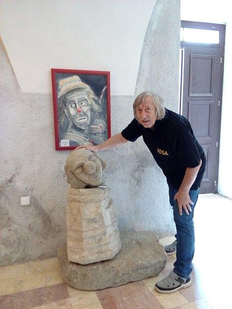 Pavel Macák měl výstavu na hradě Seeberg.
