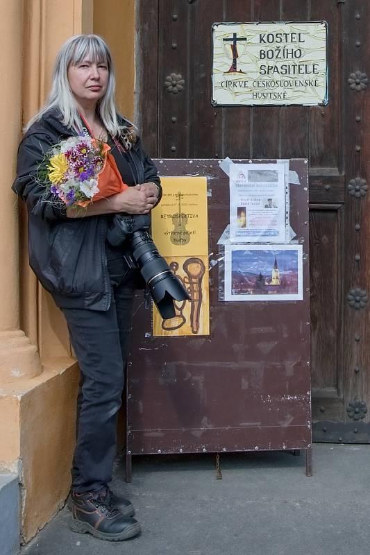 Laurencia Helásková fotografuje v Podbořanech a okolí různé akce.
