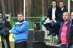 Televizní utkání mezi Vroutkem a Ervěnicemi-Jirkovem.