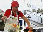 Dana Ďopanová, vedoucí školní jídelny v Černčicích na Podbořansku