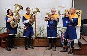 Zahájení Muzejní noci v Lounech. Žatečtí trubači