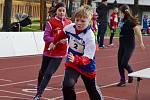 Okresní kolo Štafetového poháru 2016 na stadionu Mládí v Žatci