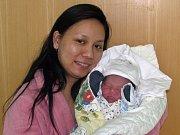 Bui Bao Phucse narodil 2. března v 5.43 hodin. Maminka Nguyen Thi Thuy Phuong je z Měcholup, chlapec vážil 3,48 kg a měřil 49 cm.