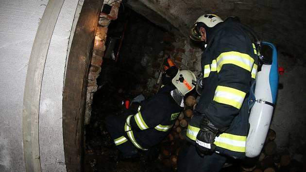 Požár kotelny a střechy rodinného domu v Němčanech