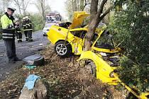 Tragická dopravní nehoda mezi Košticemi a Křesínem