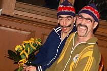 Lukáš Šimandl a Josef Petráň (v modrém) jako duo Brejkdens Bradrs