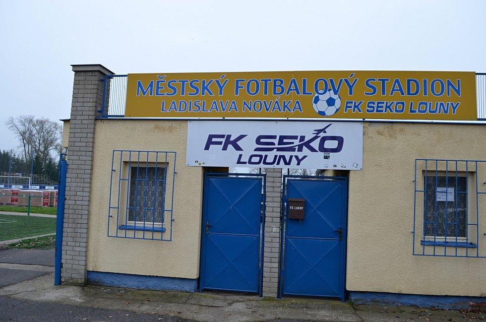 Městský fotbalový stadion Ladislava Nováka v Lounech