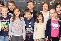 Prvňáci ze ZŠ Masarykova Lubenec třídní učitelky Jany Pěknicové