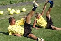 V Blšanech se připravuje hodně mladé mužstvo.