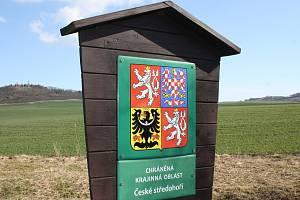 Chráněná krajinná oblast České středohoří. Ilustrační foto