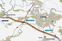 Stavět dálnici u Loun chce deset firem.