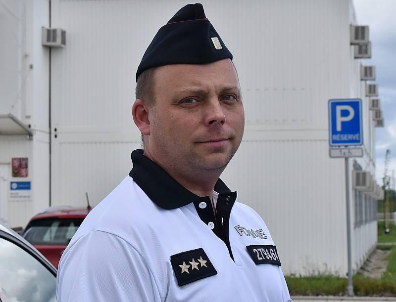 Vedoucí dálničního oddělení Postoloprty Jiří Samuel.