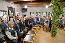 Setkání českých nositelů Chmelového řádu v žateckém Chmelařském muzeu