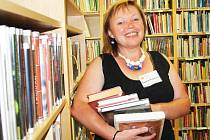 Ředitelka lounské knihovny Dagmar Kučerová
