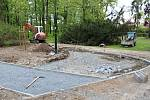 Revitalizace parku T. G. Masaryka v Lounech je v plném proudu