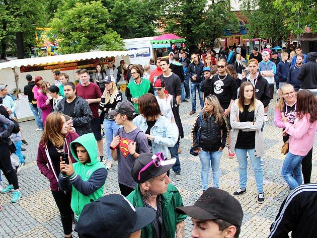 Podbořanské náměstí opět na dva dny ožilo tradičními slavnostmi.
